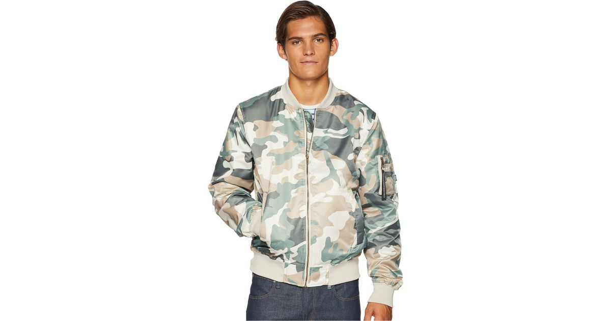 bf421f5a502ab Wesc The Camo Bomber for Men - Lyst