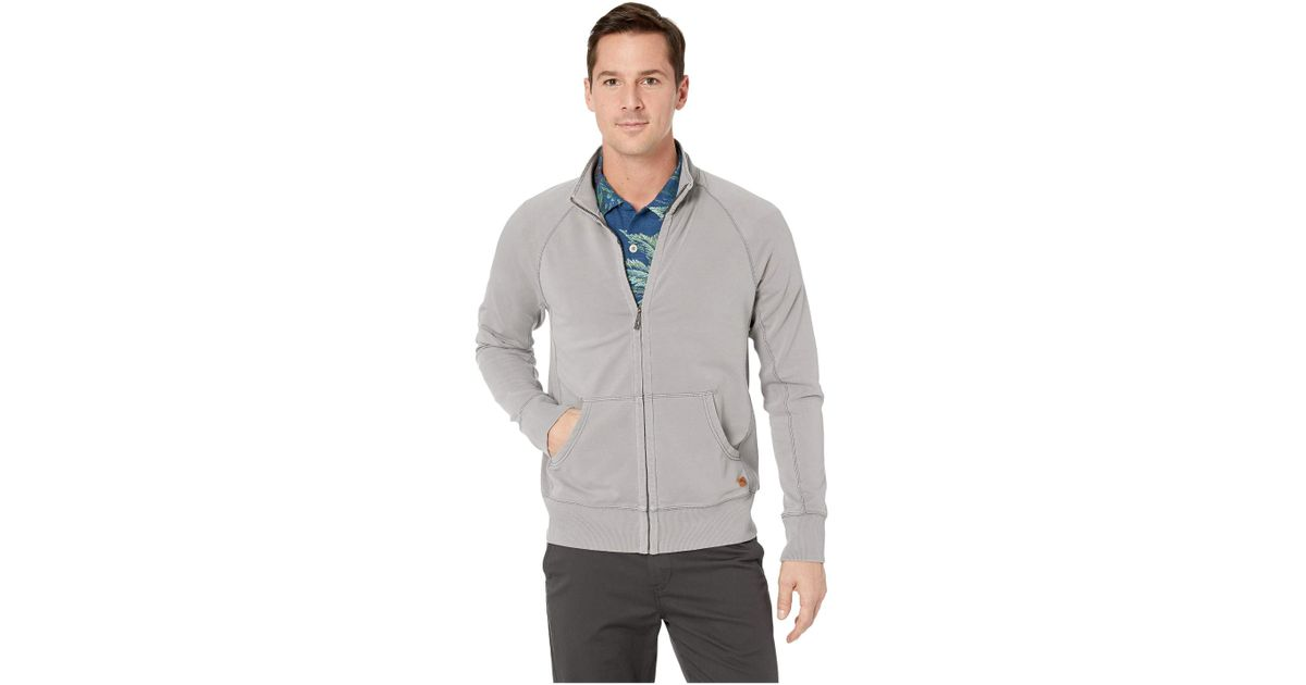18295f94dc97c Tommy Bahama Ben Terry Coast Full Zip (type Writer) Sweater in Gray for Men  - Save 23% - Lyst
