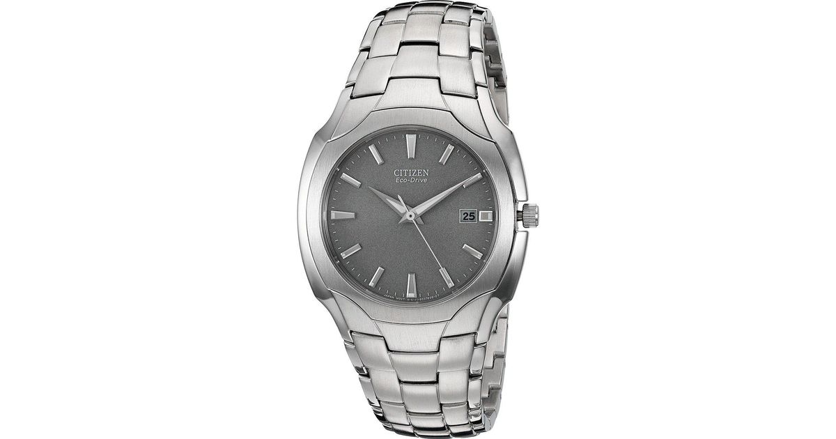 Lyst - Citizen Bm6010-55a Eco-drive Stainless Steel Watch in Metallic b35028546