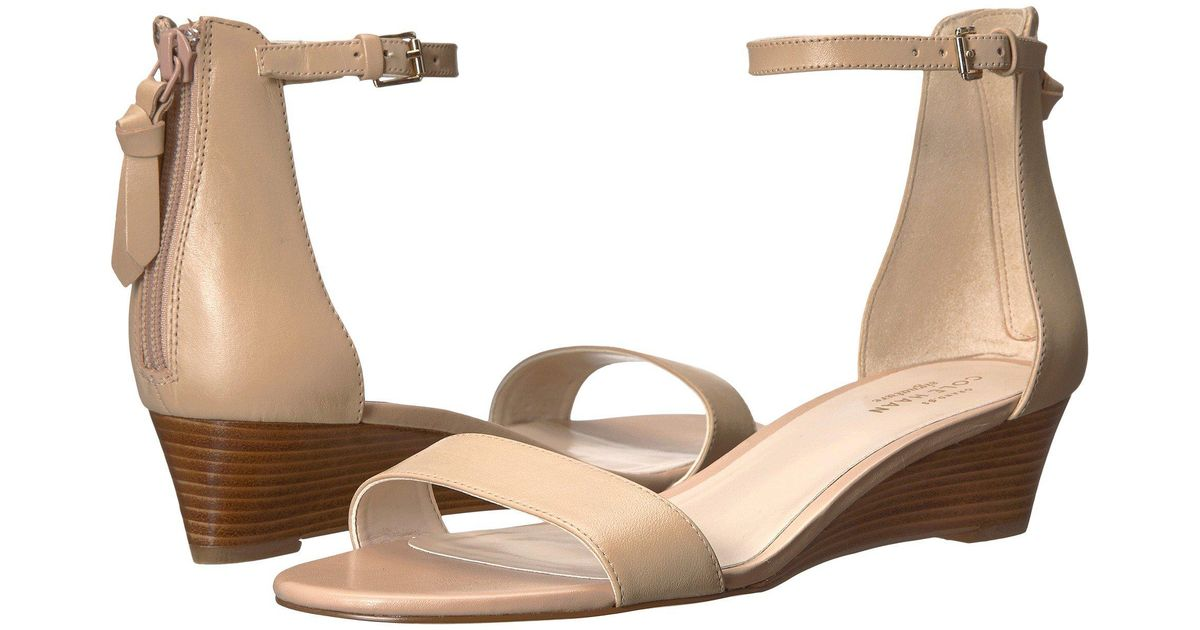 db45567782e Lyst - Cole Haan Adderly Wedge in Natural