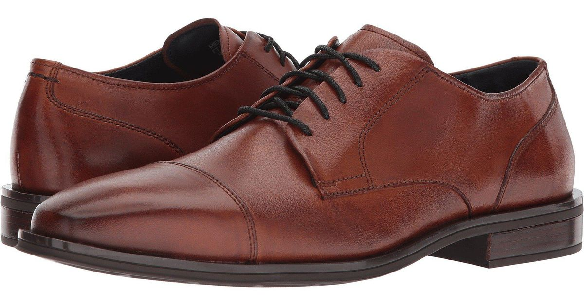 a020e065273 Lyst - Cole Haan Dawes Grand Cap Toe Oxford in Brown for Men - Save 46%