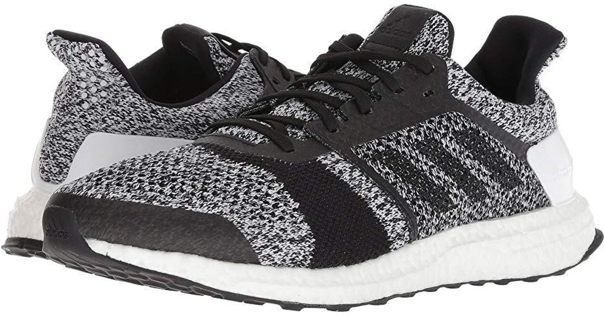brand new f1116 ea450 Adidas Originals - Ultraboost St (white/black/black) Running Shoes for Men  - Lyst