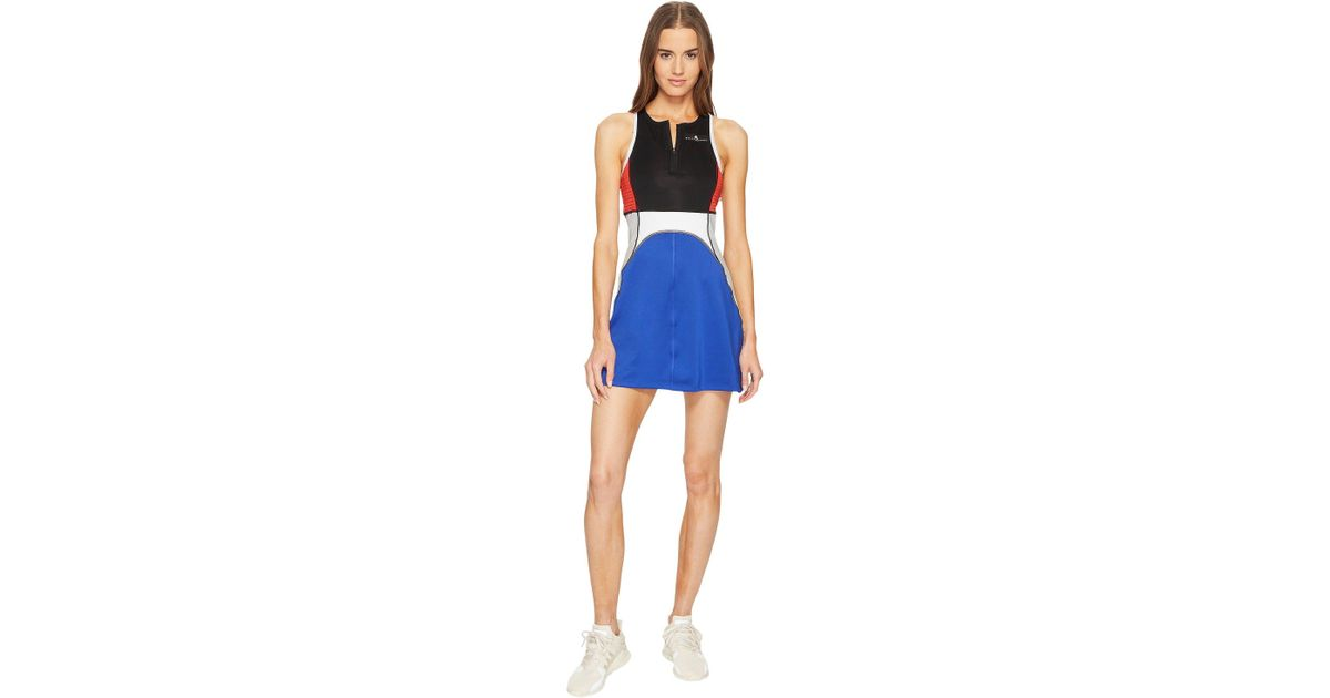 cc9997306ad adidas By Stella Mccartney Barricade Dress in Blue - Lyst