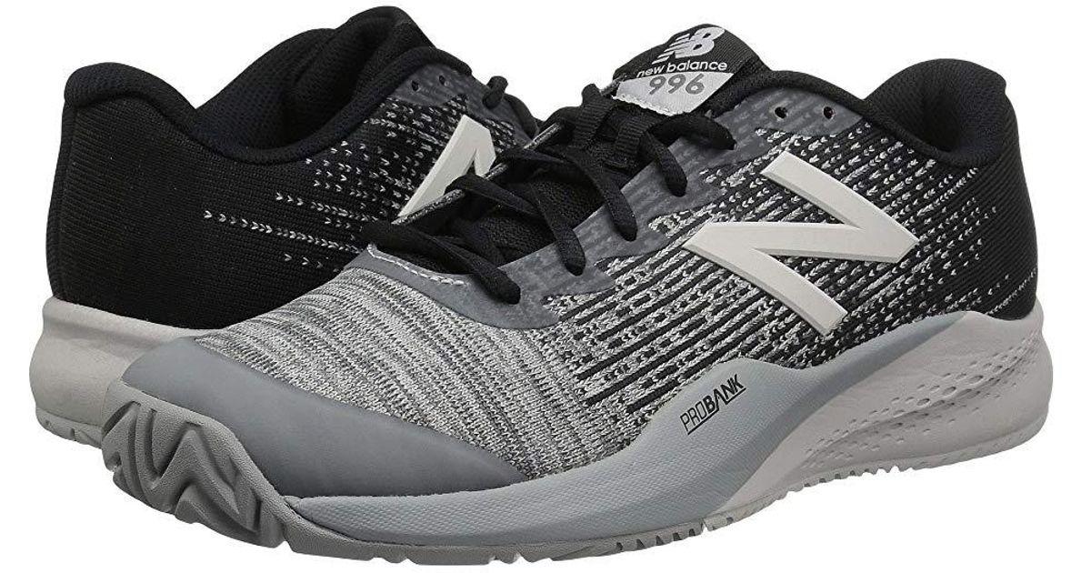 buy popular 6c7e2 99bac New Balance 996v3 (black/grey) Shoes in Black for Men - Lyst