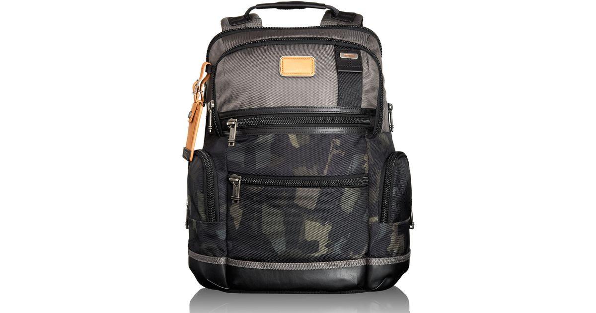 5c15397b9 Tumi Alpha Bravo Gray/Camo Knox Backpack in Gray for Men - Lyst