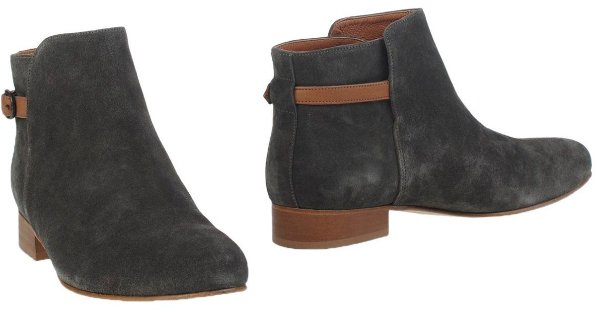 sessun ankle boots in green lyst