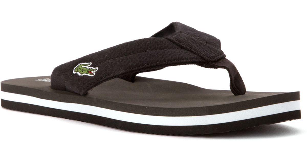 fb11759cd Lyst - Lacoste Randle Tbr Sandal in Black for Men