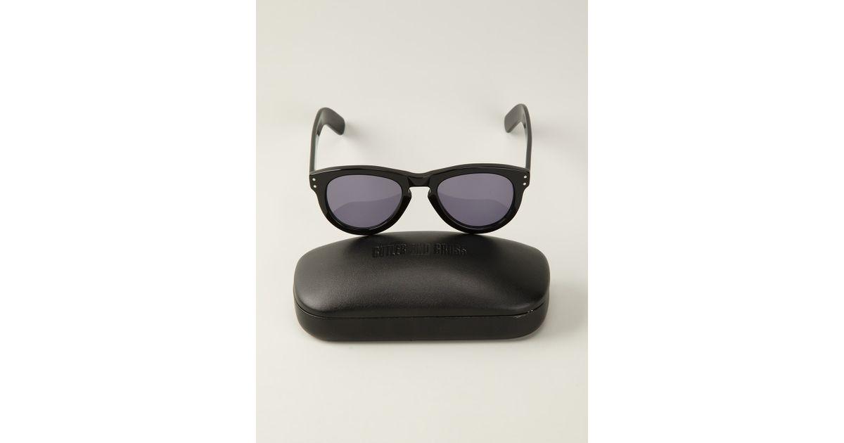 81240199e3 Lyst - Cutler   Gross Curved Wayfarer Sunglasses in Black for Men