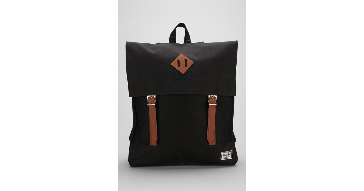 Lyst - Urban Outfitters Herschel Supply Co Survey Backpack in Black for Men 14134f9a2bc36