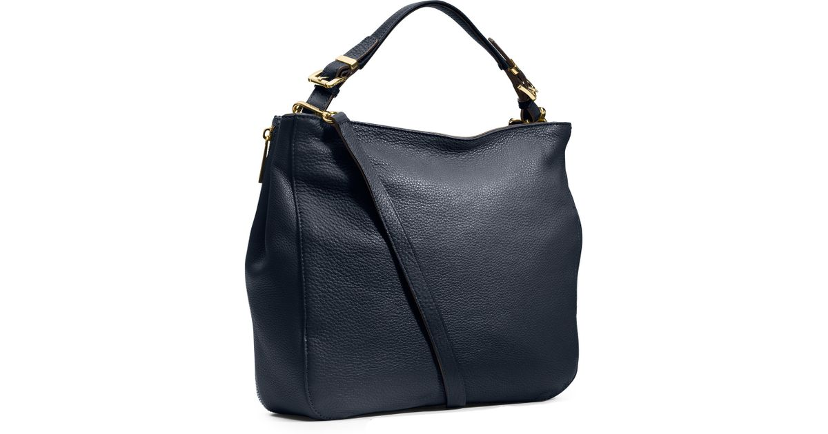 fd646e198d818b MICHAEL Michael Kors Large Essex Convertible Shoulder Bag in Blue - Lyst