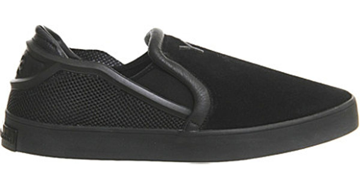 24fd3e36914bf Lyst - adidas Originals Y3 Laver Slip-on Shoes in Black for Men