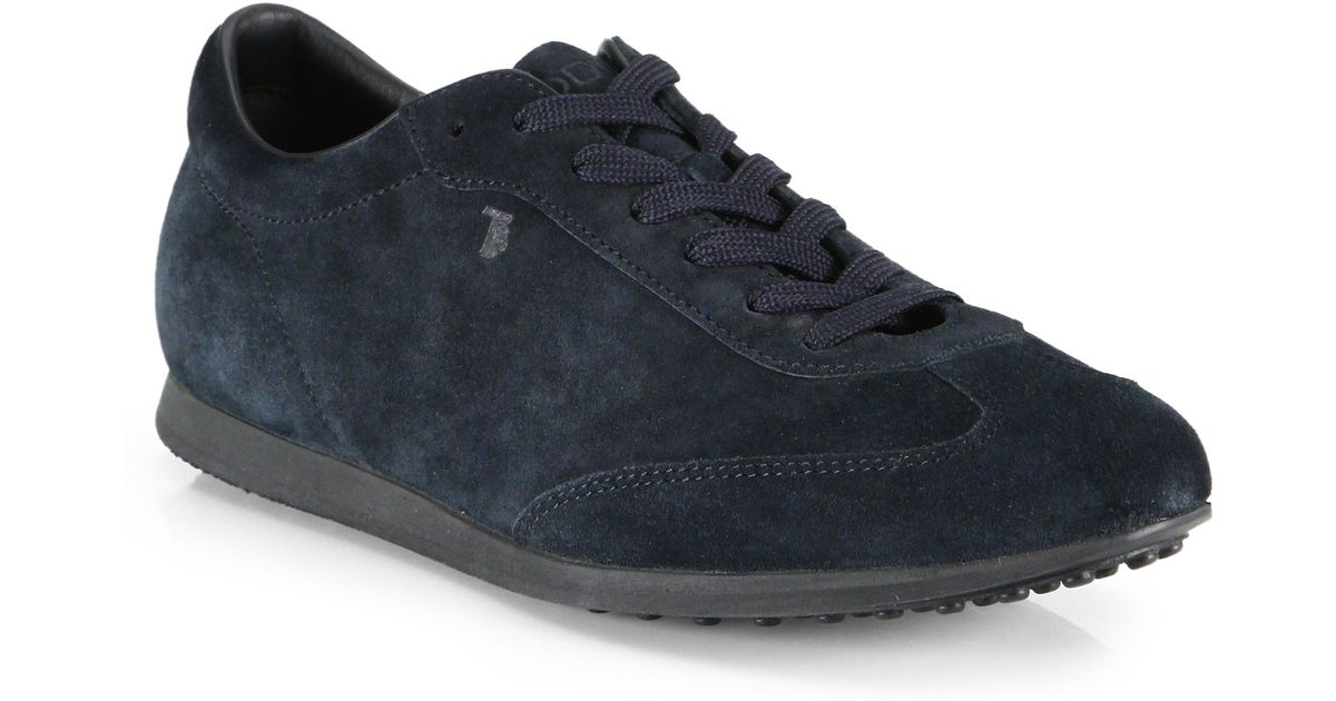 new arrival 93034 f7f46 tods-blue-suede-sneakers-product-1-26003032-2-975401039-normal.jpeg