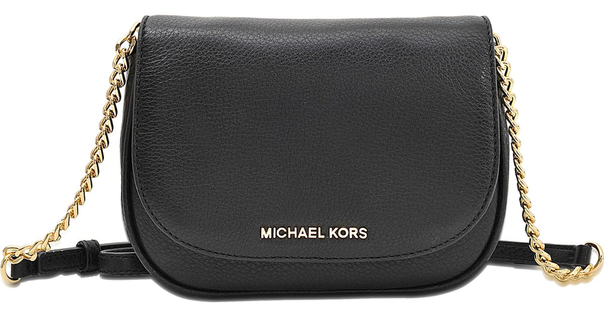 7924566d9a73 ... germany michael michael kors bedford small crossbody bag in black lyst  c1e13 4f7cf ...
