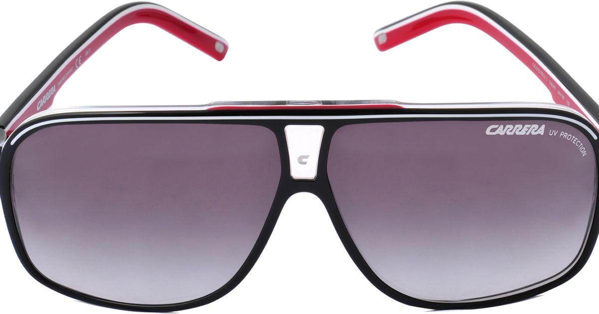 6de74fa896bbc5 Lyst - Carrera Grand Prix 2 Two Tone Sunglasses in Black