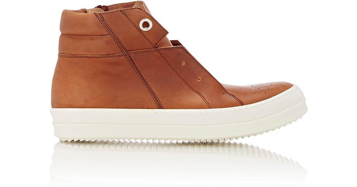 Rick OwensIsland Dunk High-Top Sneakers QD3CTP