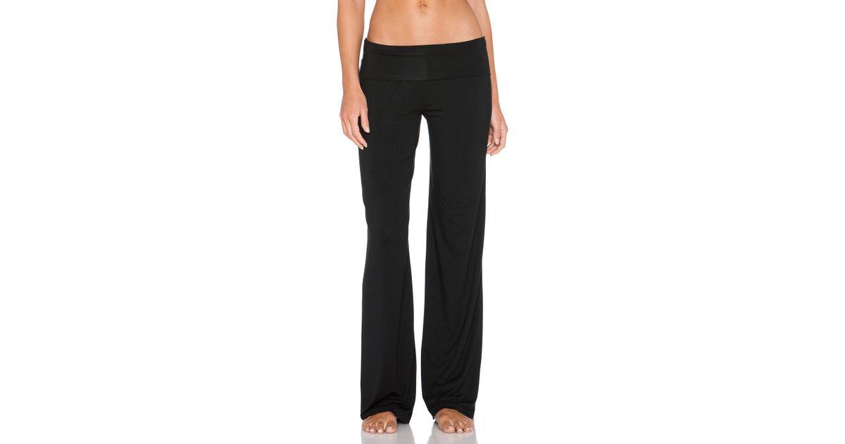 07b76e26dfe39 Calvin Klein Essentials Pull On Yoga Pant in Black - Lyst