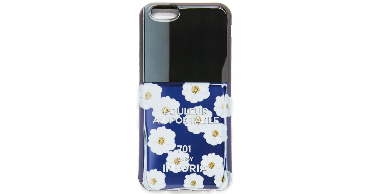 lyst iphoria daisy iphone 6 6s case in black. Black Bedroom Furniture Sets. Home Design Ideas