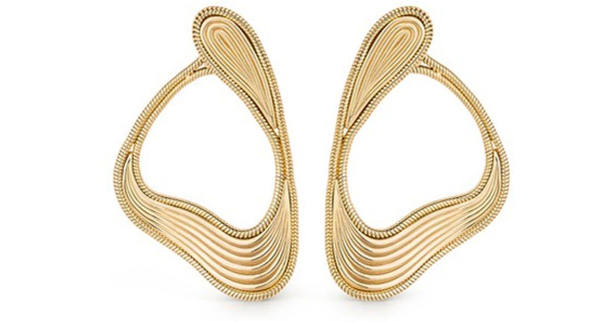 Fernando Jorge Stream Lines 18-karat Gold Earrings Nas1o