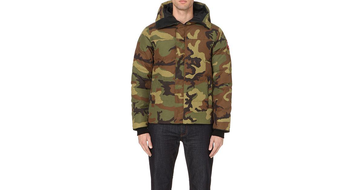 8556e30e0d0e6 Canada Goose Macmillan Quilted Shell Parka in Green for Men - Lyst