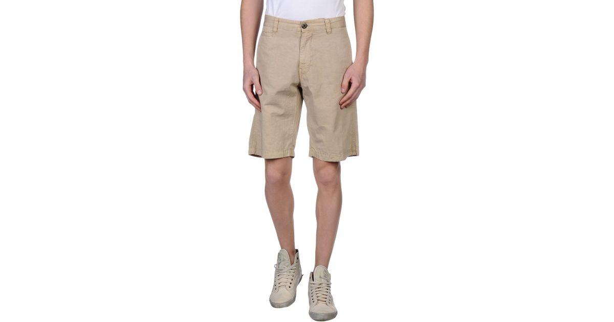 murphy nye bermuda shorts in natural for men lyst. Black Bedroom Furniture Sets. Home Design Ideas