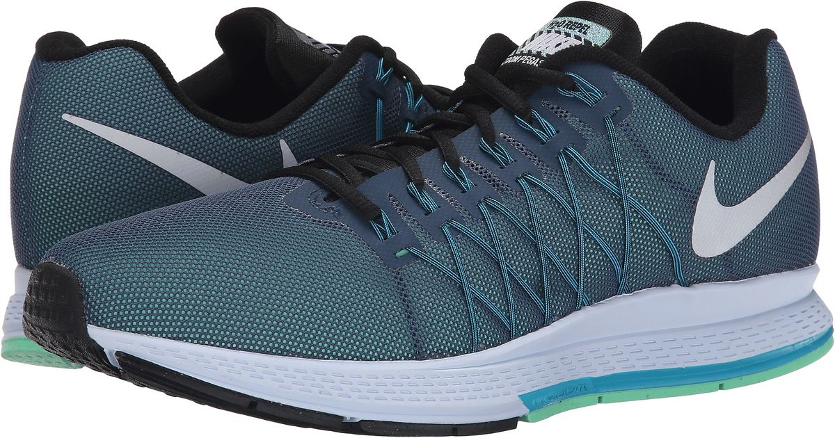 0742513db41be ... australia lyst nike air zoom pegasus 32 flash in green for men 1201d  d3d3b