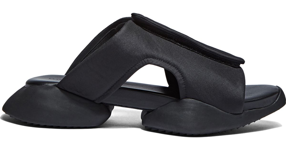61febe0649fd Lyst - Rick Owens X Adidas Women s Velcro Strap Ro Clog Sandals In Black in  Black