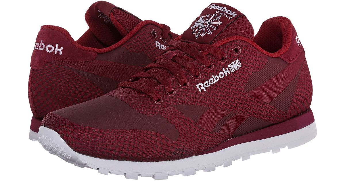 cfe78956764d32 ... Lyst - Reebok Classic Runner Jacquard in Red for Men ...