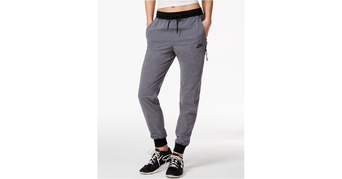 Luxury Nike Bonded Woven Pants Anthracite See Other Nike Sportswear Products
