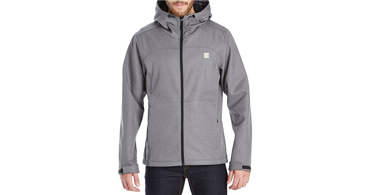 Bench Know-how Lightweight Jacket in Gray for Men | Lyst