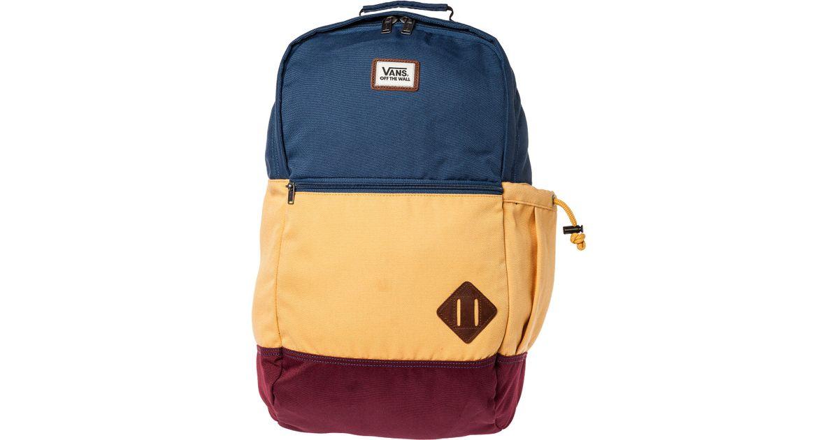 e89ce909228bd4 Lyst - Vans The Van Doren Ii Backpack in Blue for Men