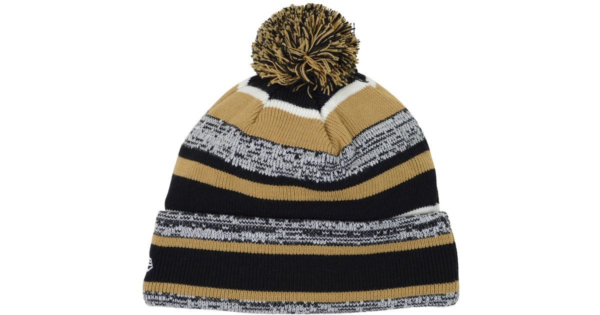 266f62c6716 Lyst - KTZ Ucf Knights Sport Knit Hat in Black for Men