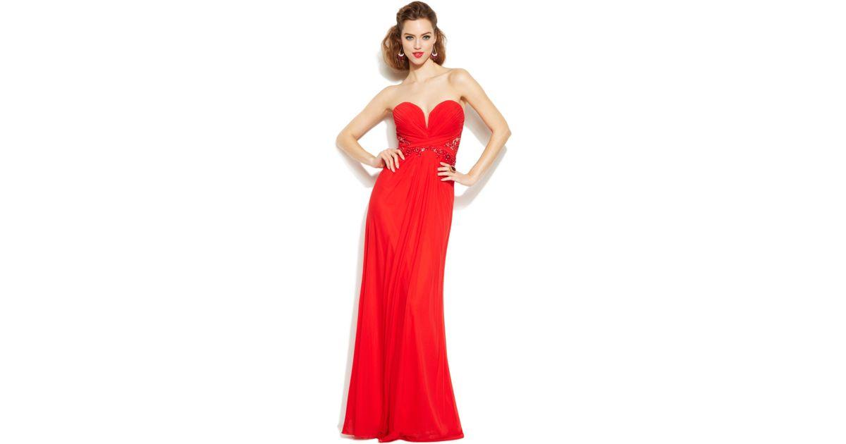 Xscape Red Dresses – Fashion design images