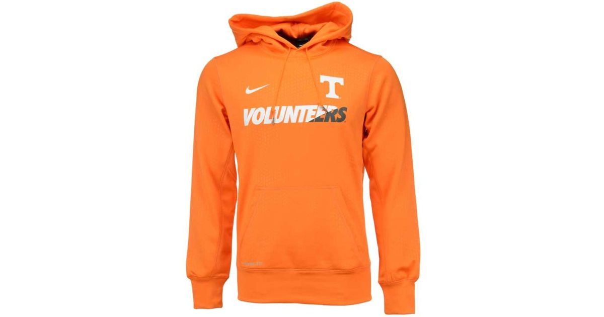 ea71179a Lyst - Nike Men's Tennessee Volunteers Sideline Ko Hoodie in Orange for Men