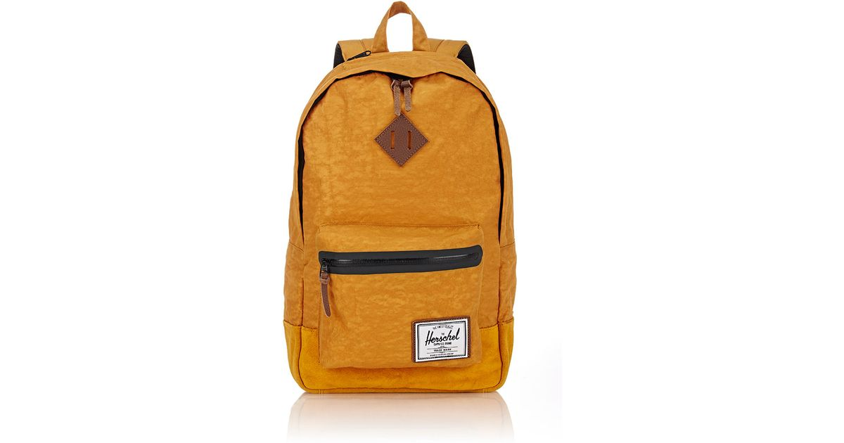 96d84fc0d7 Herschel Supply Co. - Yellow Heritage Plus Backpack for Men - Lyst