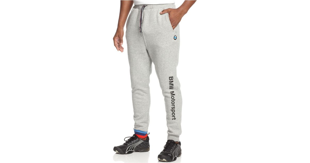 Men/'s PUMA BMW Sweatpants  576655-01 Anthracite