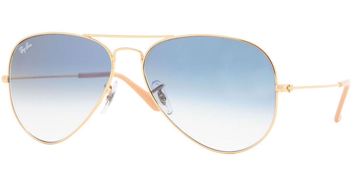 Ray Ban Gradient Blue Aviator Sunglasses « Heritage Malta