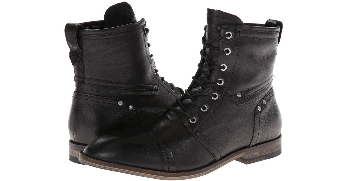 Mens Boots GUESS Eagan Black