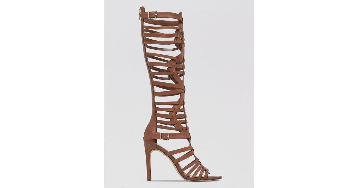 cc6d12e3c02 Lyst - Vince Camuto Gladiator Sandals - Kase High Heel in Brown