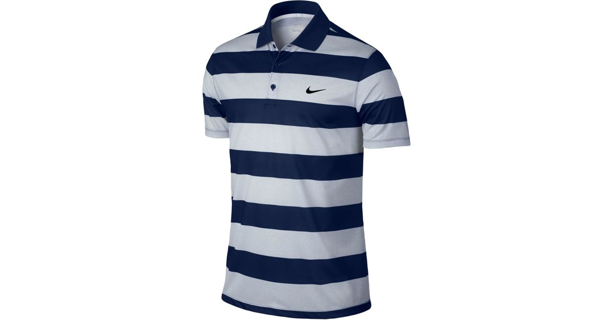 eaeefaa6 Nike Men's Victory Bold Dri-fit Golf Polo in Blue for Men - Lyst