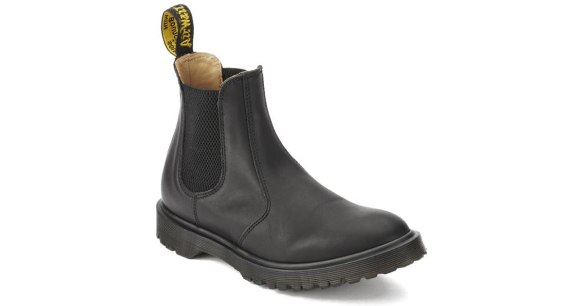 search for newest great look most fashionable Dr. Martens Black Unisex Core Rugged Chelsea Boots for men