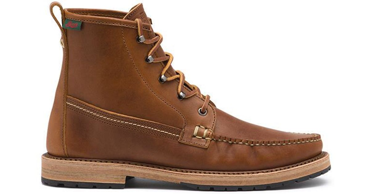 G H Bass Amp Co Buxton Boot In Brown For Men Lyst