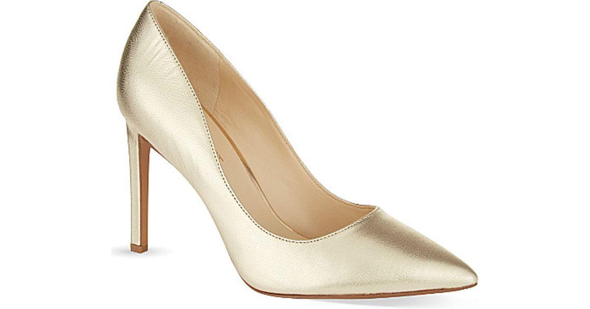0df40f1e6d65 Nine West Tatiana 20 Court Shoes in Metallic - Lyst