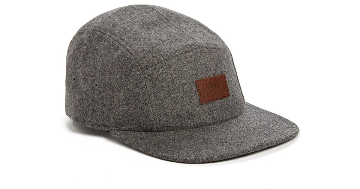 Vans Davis 5 Panel Camper Hat In Heather in Gray for Men - Lyst f21dabb650b