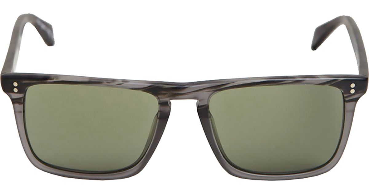 906a64a399 Lyst - Oliver Peoples Mens Bernardo Matte Storm With Central Grey Mineral  Glass Sunglasses in Gray for Men