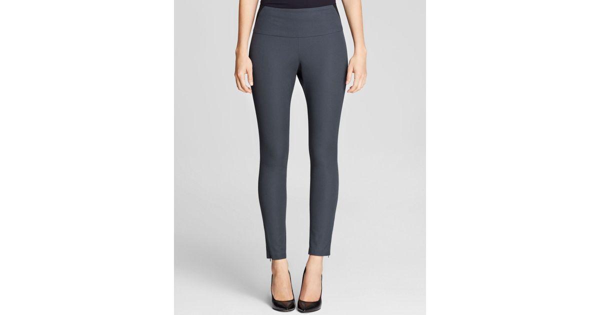 03a47da7e6e4cc Lyst - Spanx ® Leggings - Ready-To-Wow Woven Twill #2067 in Gray