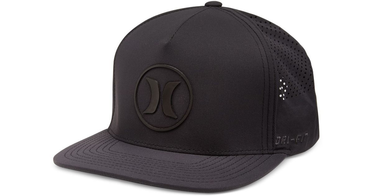 promo code 05e84 66ac3 ... wholesale lyst hurley dri fit icon flex fit hat in black for men d52de  1d11a