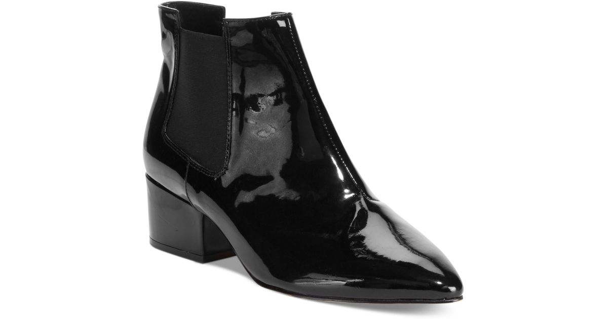 47249b12bd40 Lyst - French Connection Ronan Booties in Black