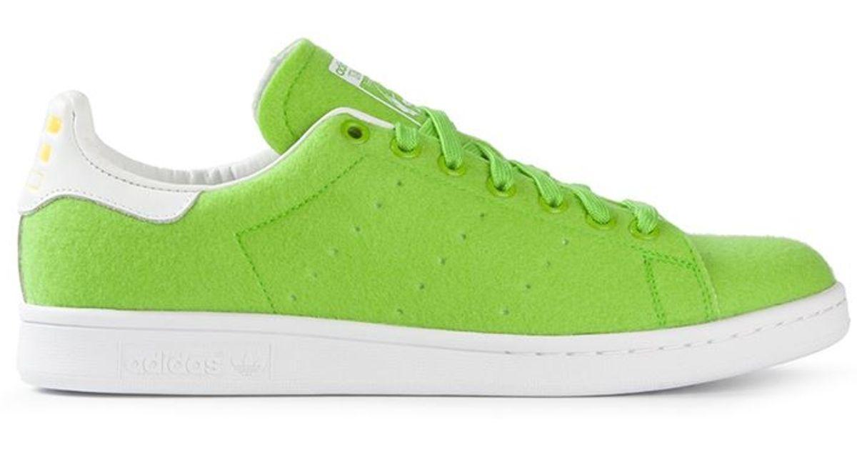 c636f351f ... discount lyst adidas originals stan smith tns sneakers in green for men  e612e 2dbfa