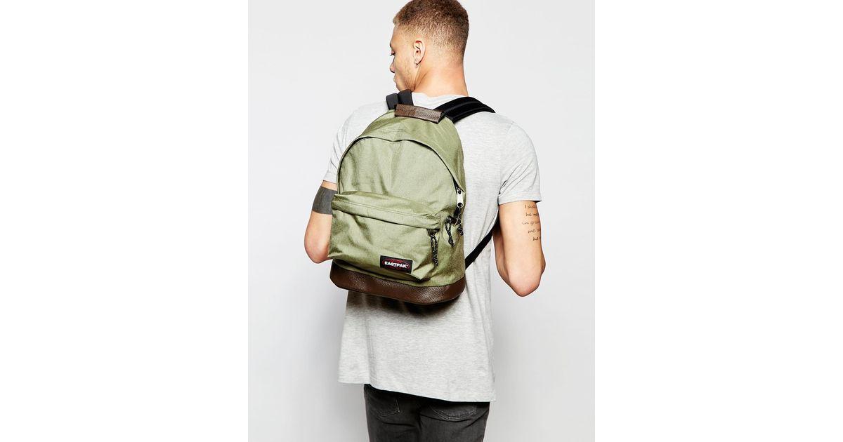 Lyst - Eastpak Wyoming Backpack In Khaki in Green for Men