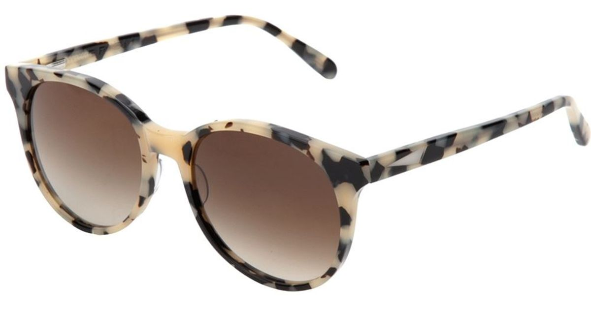 7be9197c32 Prism Tortoise Shell Sunglasses in Natural - Lyst